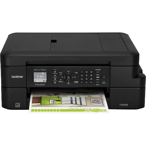 Brother INKvestment MFC-J775DW Color Inkjet All-in-One Printer