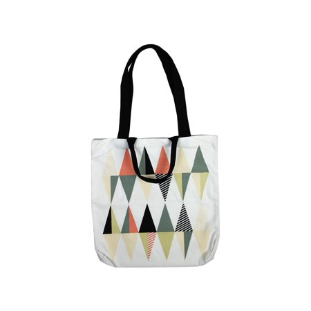Pattern Tote Bag Handbag Purse (Geometric Pattern Four Strap Shoulder Bag, Tote Pack Shopping Pouch, Handbag Schoolbag)