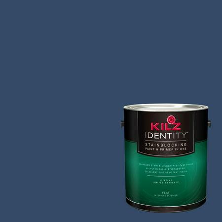 KILZ IDENTITY Interior/Exterior Stainblocking Paint & Primer in One #RC100-02 Fountain Pen, 1 gallon