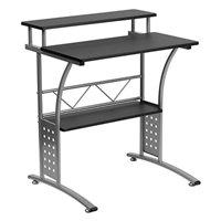 Offex OFX-108226-FF Clifton Black Laminate Surface Computer Desk
