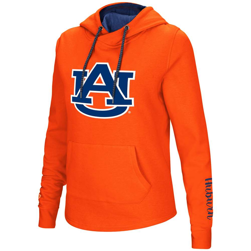 Auburn Tigers Women's Colosseum Crossover Neck Hoodie