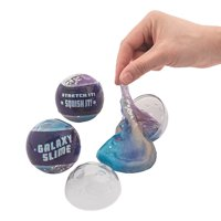 Galaxy Slime Filled Easter Egg - Party Supplies - 12 Pieces