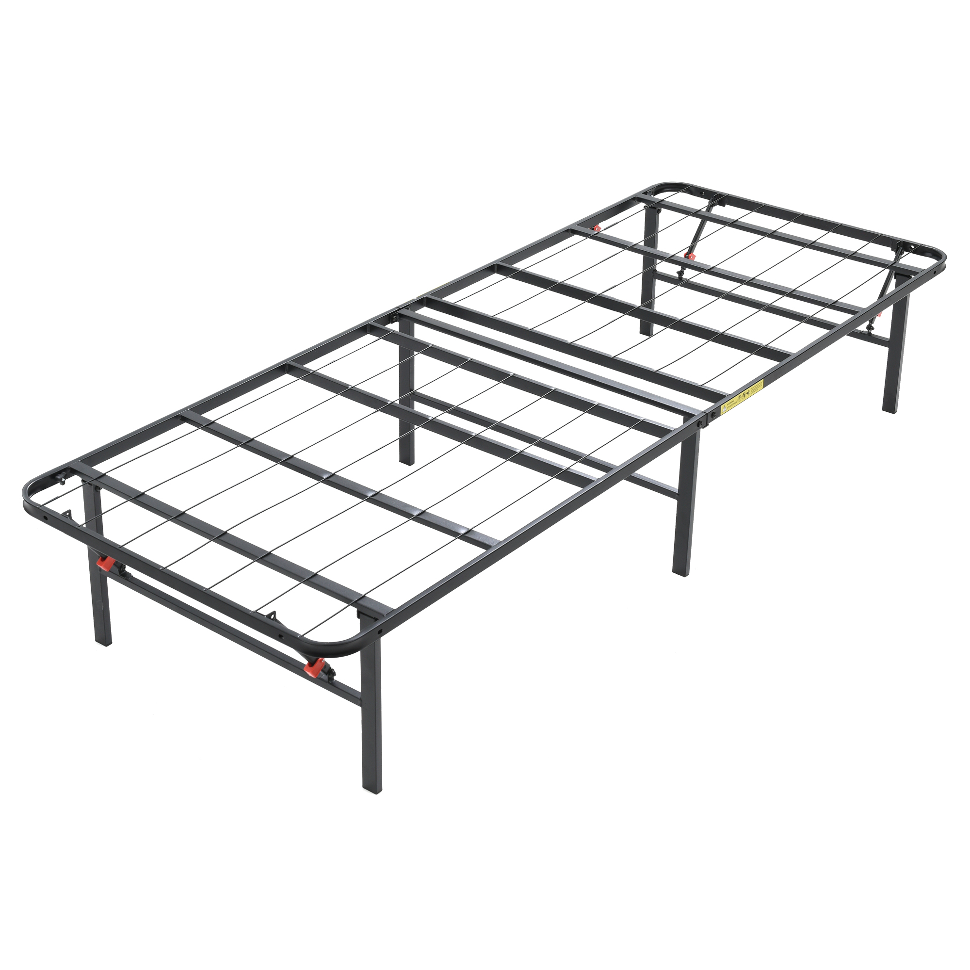 modern sleep hercules heavy duty 14 inch platform metal bed frame I-beam Construction modern sleep hercules heavy duty 14 inch platform metal bed frame mattress foundation multiple sizes walmart
