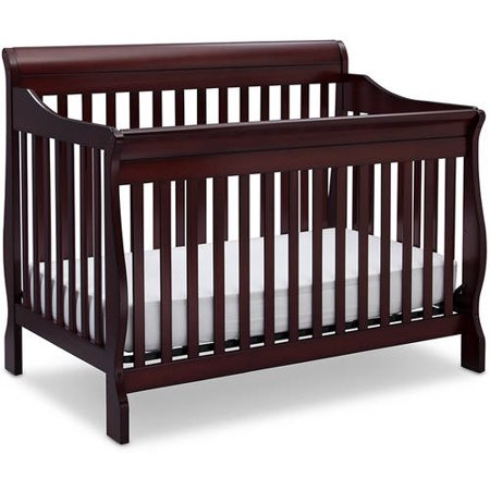 Delta Children Canton 4-in-1 Convertible Crib Espresso Cherry