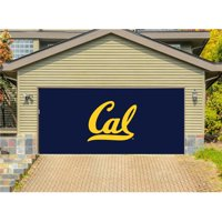 Victory Corps 810034CALB-001 7 x 16 ft. NCAA Double Garage Door Decor California Bears - No.001