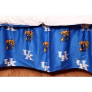 College Covers Kentucky Wildcats Printed Dust Ruffle, Full