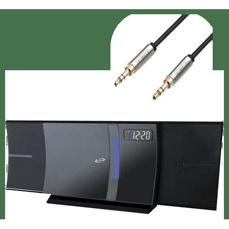 Ilive Bluetooth Wireless Desktop Home Cd Player Amp Digital