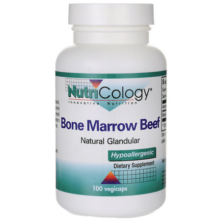 Nutricology Bone Marrow Beef Gland Capsules, 100 Count (Pituitary Gland Support)
