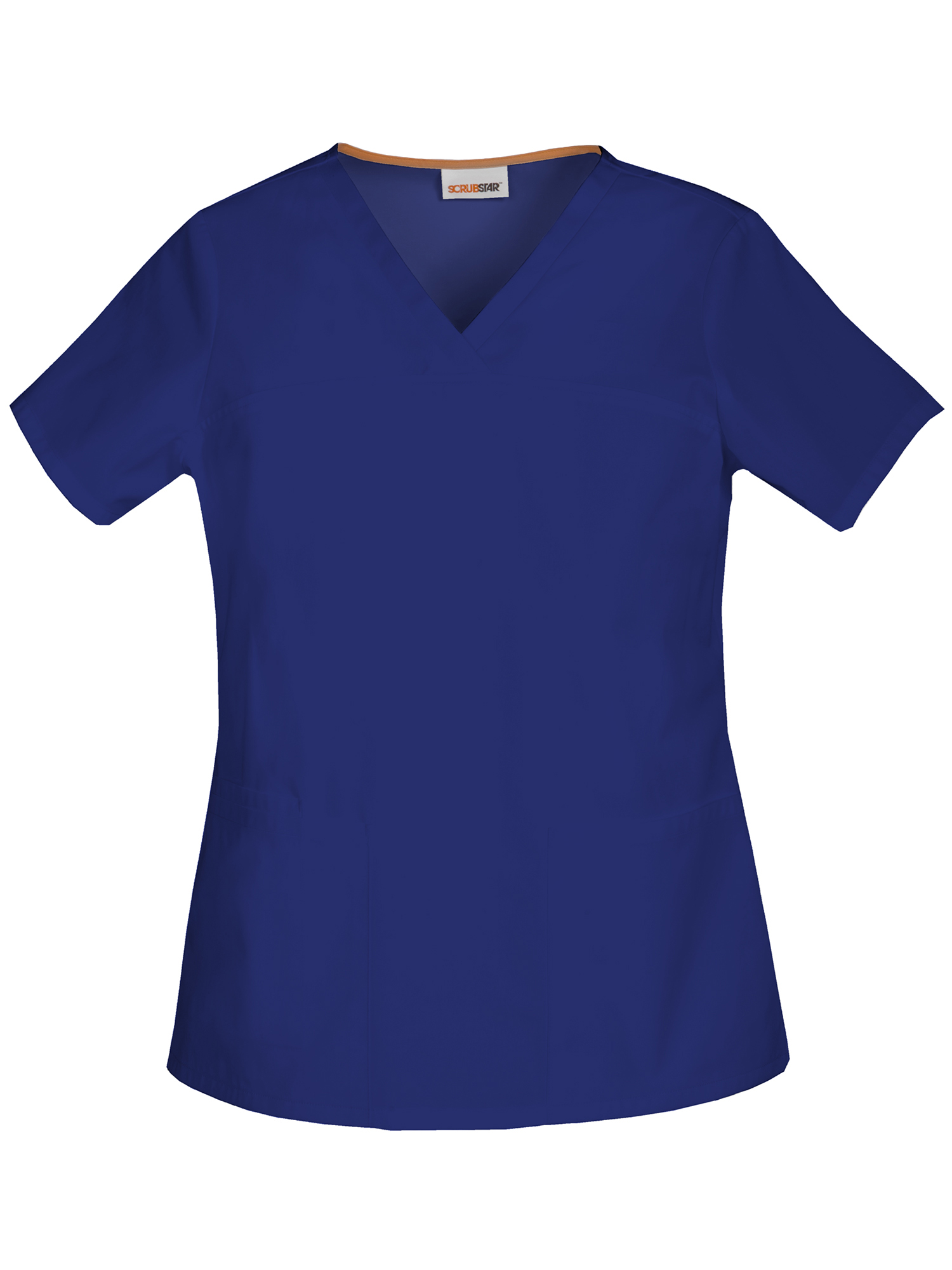 Scrubstar Women's Core Essentials Brushed Poplin V-Neck Scrub Top