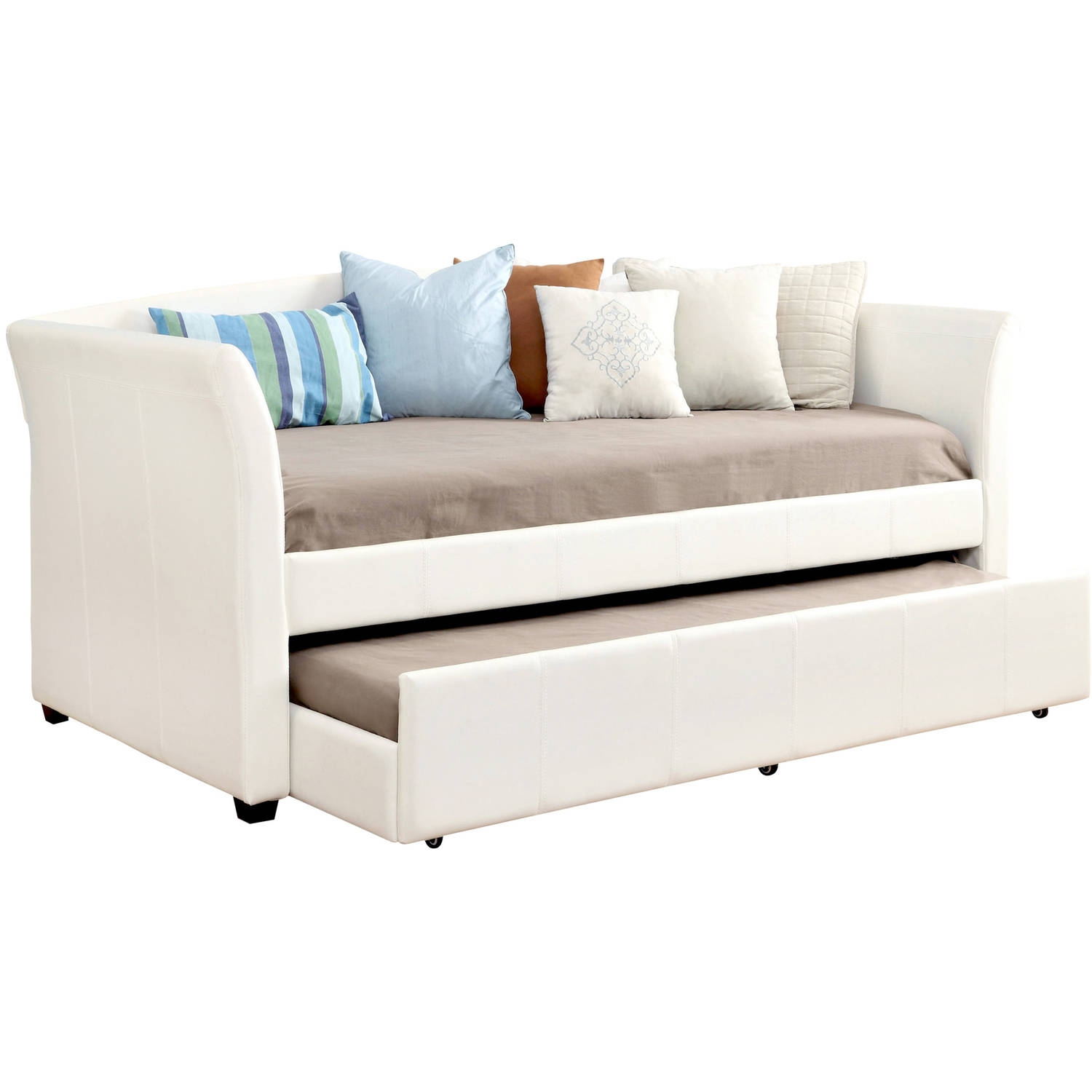 Delmar White Daybed w/Twin Trundle