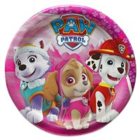 "7"" PAW Patrol Girl Paper Dessert Plates, 8-Count"