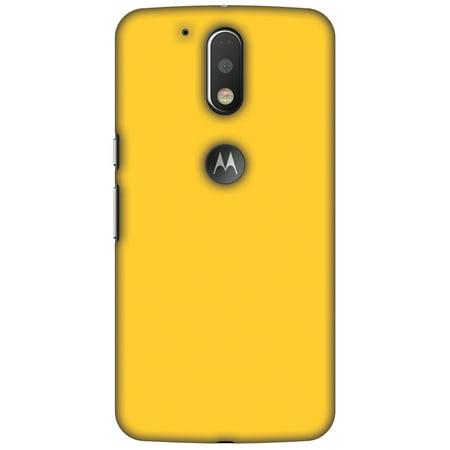 Motorola Moto G4 XT1625 Case, Motorola Moto G4 Plus XT1644 Case - Bumblebee Yellow,Hard Plastic Back Cover, Slim Profile Cute Printed Designer Snap on Case with Screen Cleaning - Bumblebee Cute