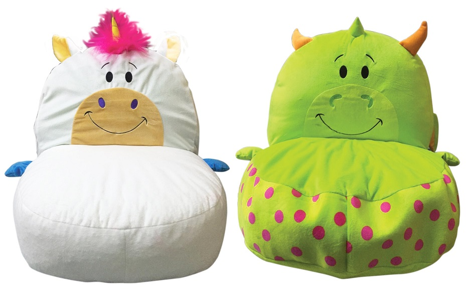 FlipaZoo Plush 2 In 1 Child Chair, Multiple Characters Available
