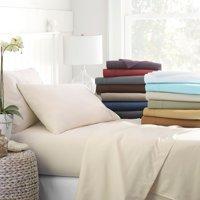 Noble Linens 4 Piece Bed Sheet Ultra Soft Set