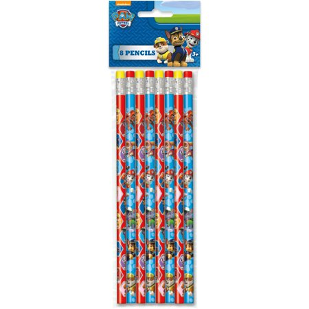 PAW Patrol Pencils, 8ct](Multicolor Pencil)