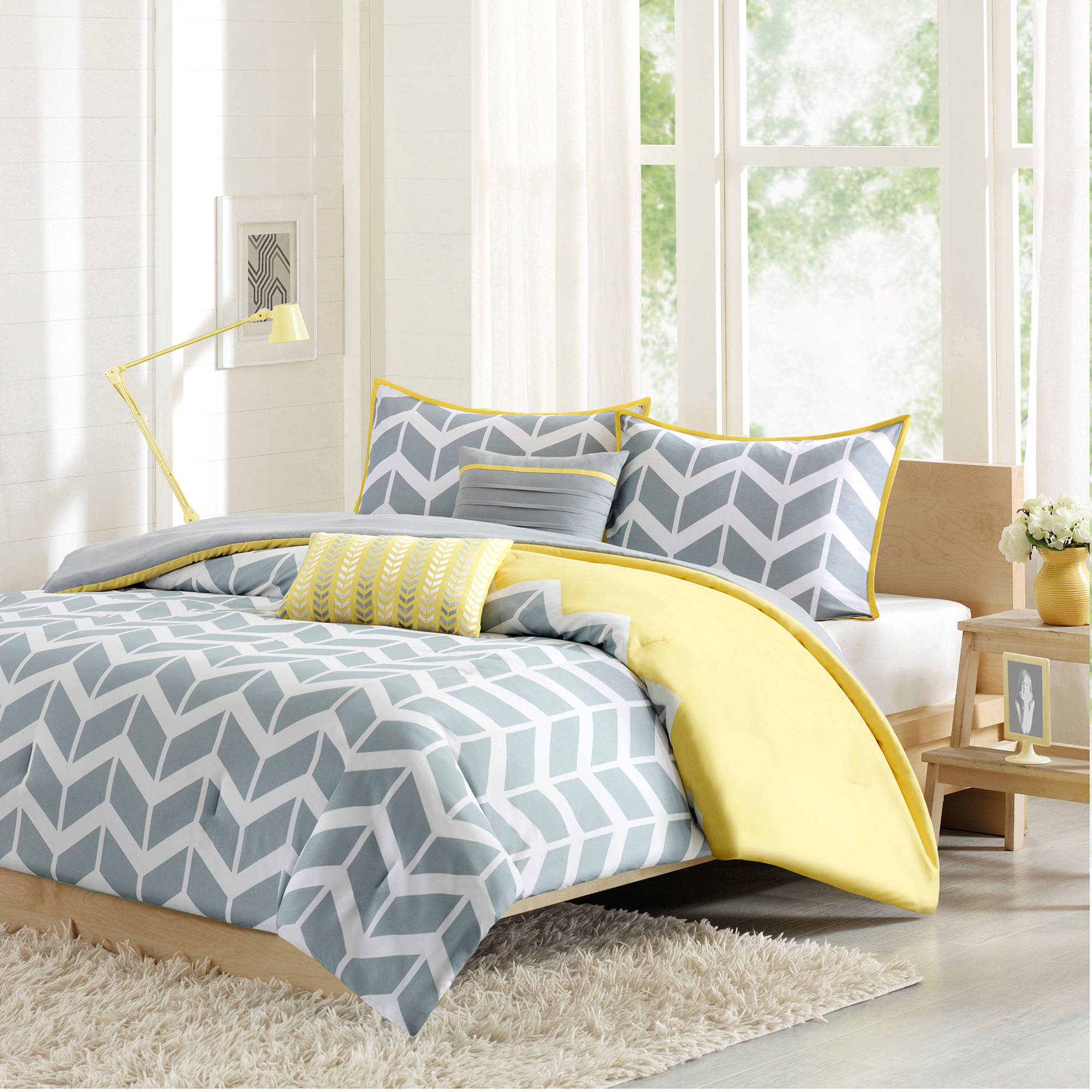 Yellow and grey bedding twin - Yellow And Grey Bedding Twin