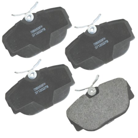 CARQUEST Wearever Gold Semi-Metallic Brake Pads - Front (4-Pad Set)