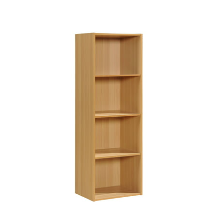 - Hodedah 4-Shelf Bookcase, Multiple Colors