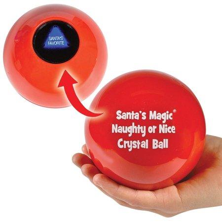 Santa's Naughty or Nice Magic Christmas Crystal (Nice Crystal)