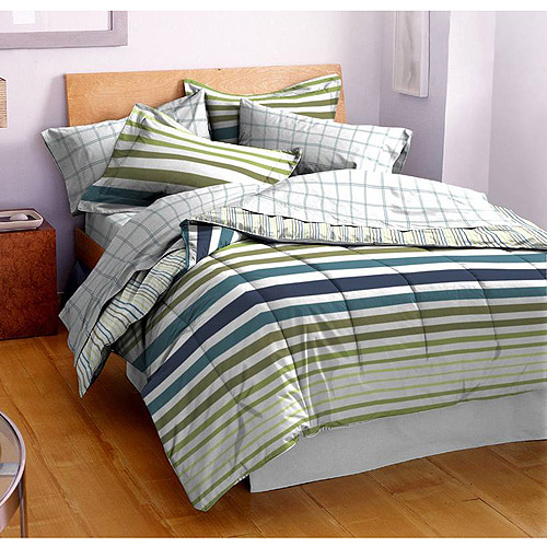 Hanes Reversible Comforter Set