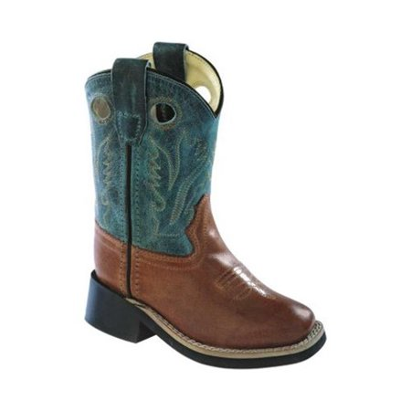 Wild West Boot Store (Infant Old West 6 Inch Broad Square Toe Cowboy Boot -)