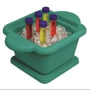 HEATHROW SCIENTIFIC HS28721G Ice Pan,Square,1L,Green