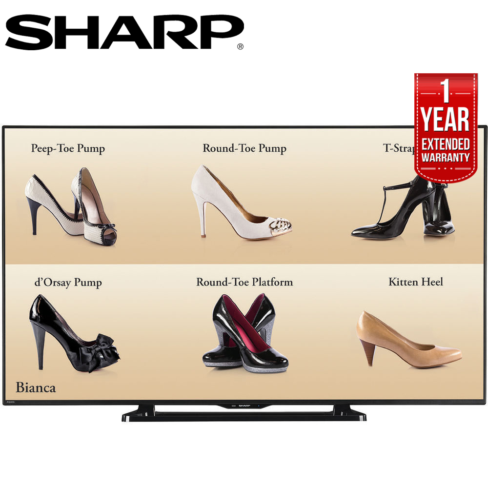 "Sharp 60"" Full HD Commercial LCD-LED TV (PN-LE601) with 1 Year Extended Warranty by Sharp"