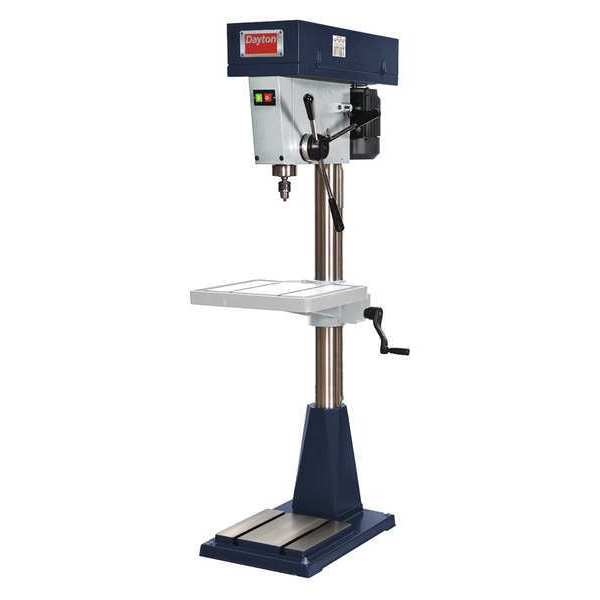 Floor Drill Press, Dayton, 49G986 by DAYTON