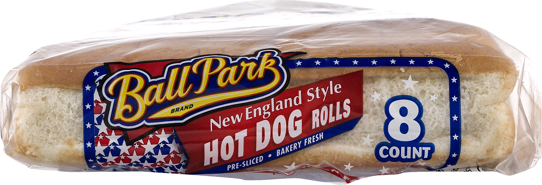 Ball Park New England Style Hot Dog Rolls, 8 Count, 12 Oz   Walmart.com