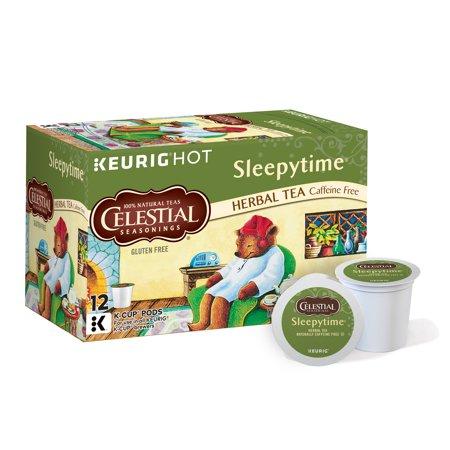 Celestial Seasonings Sleepytime Herbal Tea Keurig Single-Serve K-Cup Pods, 12 Count