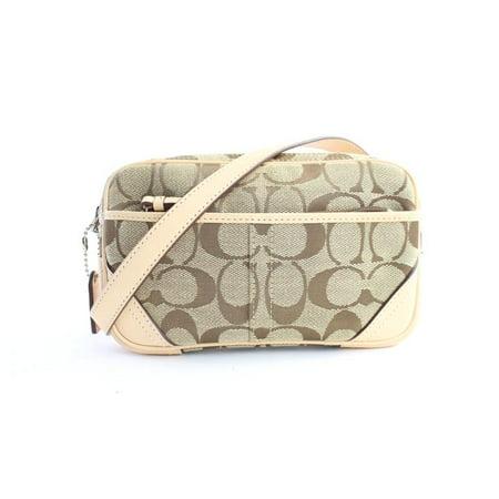 Monogram Logo Waist Bag Belt Pouch