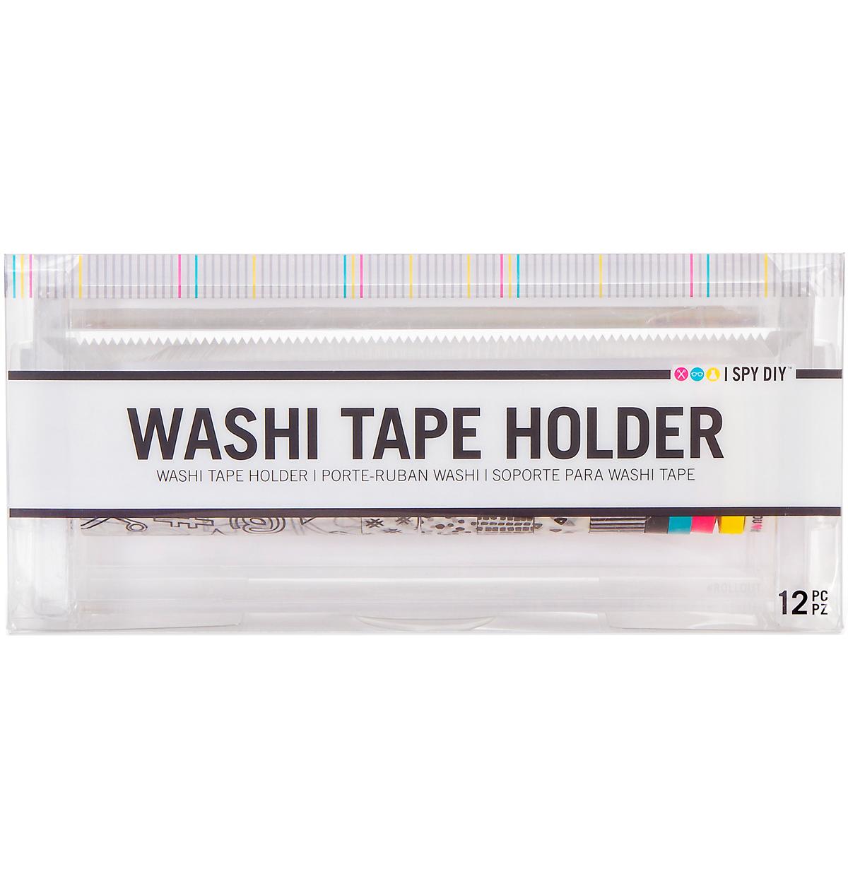 "I Spy Diy Acrylic Washi Tape Dispenser W/11 Rolls-Clear, 8.75""X4""X3.5"" - image 1 of 1"