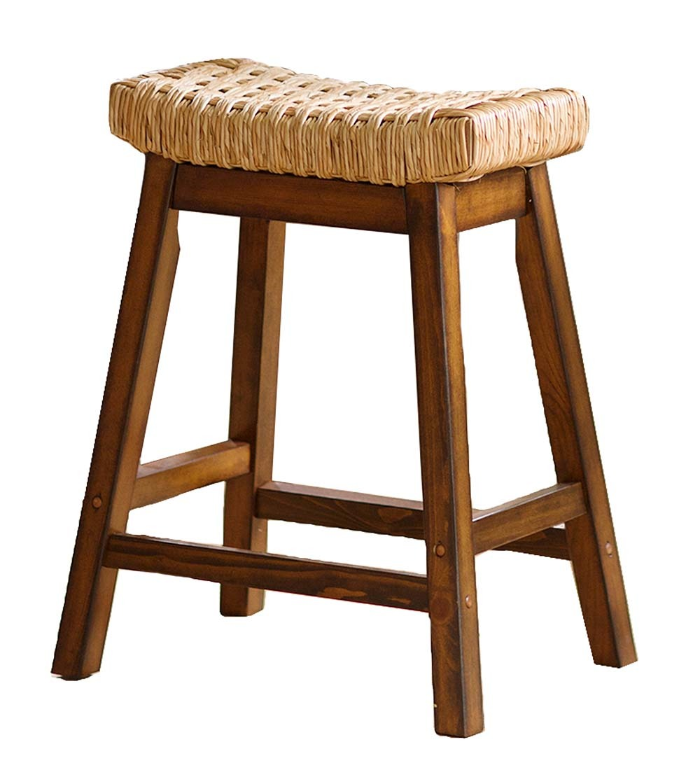 Birch Rush Stool Barstools Without Backs Walmart Com