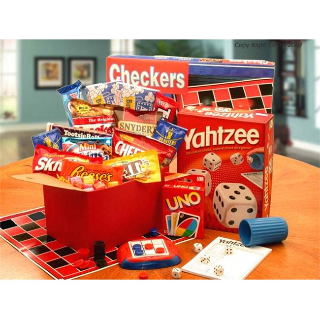 Gift basket 819191 Its Game Time Boredom & Stress Relief Gift Set- Large