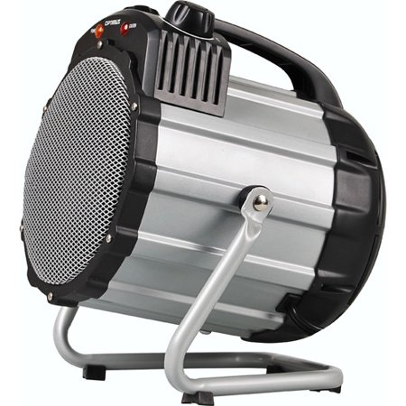Optimus Electric Portable Utility Shop Heater with Thermostat HEOP7100