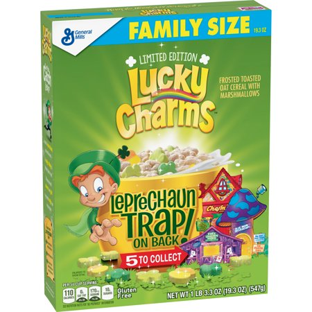 Limited Edition St Patrick's Day Lucky Charms Cereal