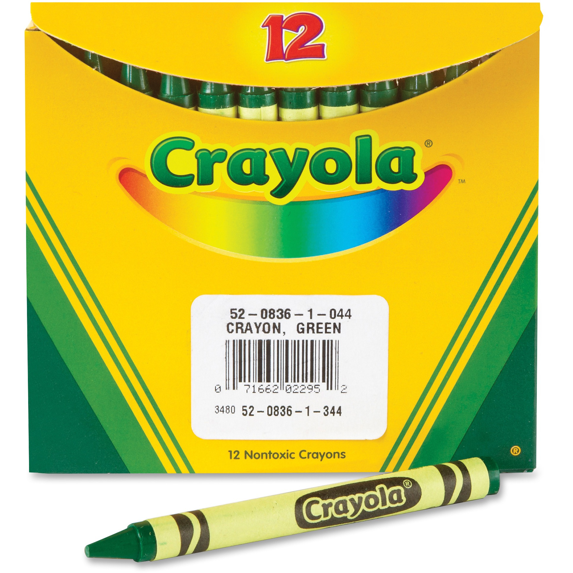 Crayola Bulk Crayons, Pack of 12, Green