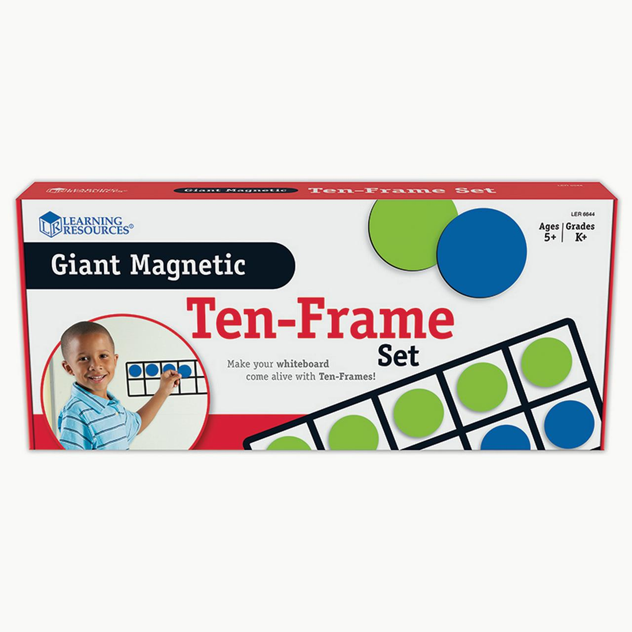 how to make magnetic ten frame
