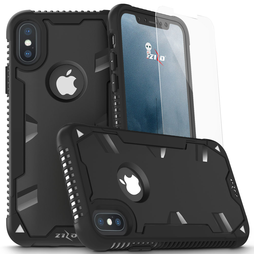 iPhone X / 8 / 8 Plus / 7 / 7 Plus, Zizo PROTON Case Military Grade Glass Screen