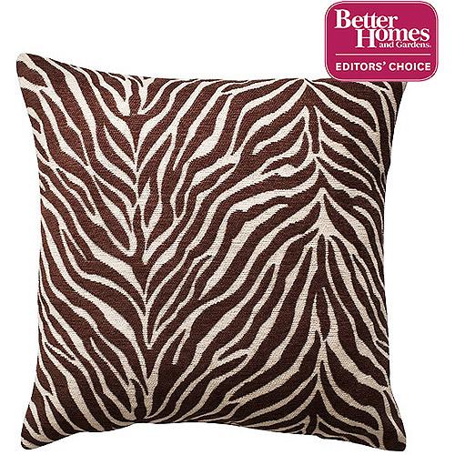 Better Homes and Gardens Zebra Decorative Pillow