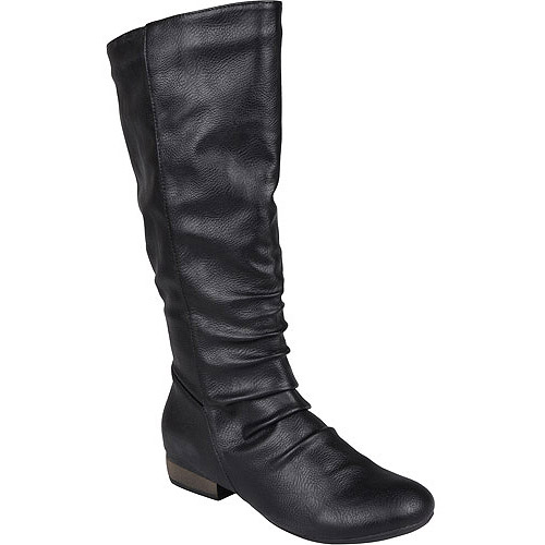 Brinley Co. Women's Faux Leather Tall Boots