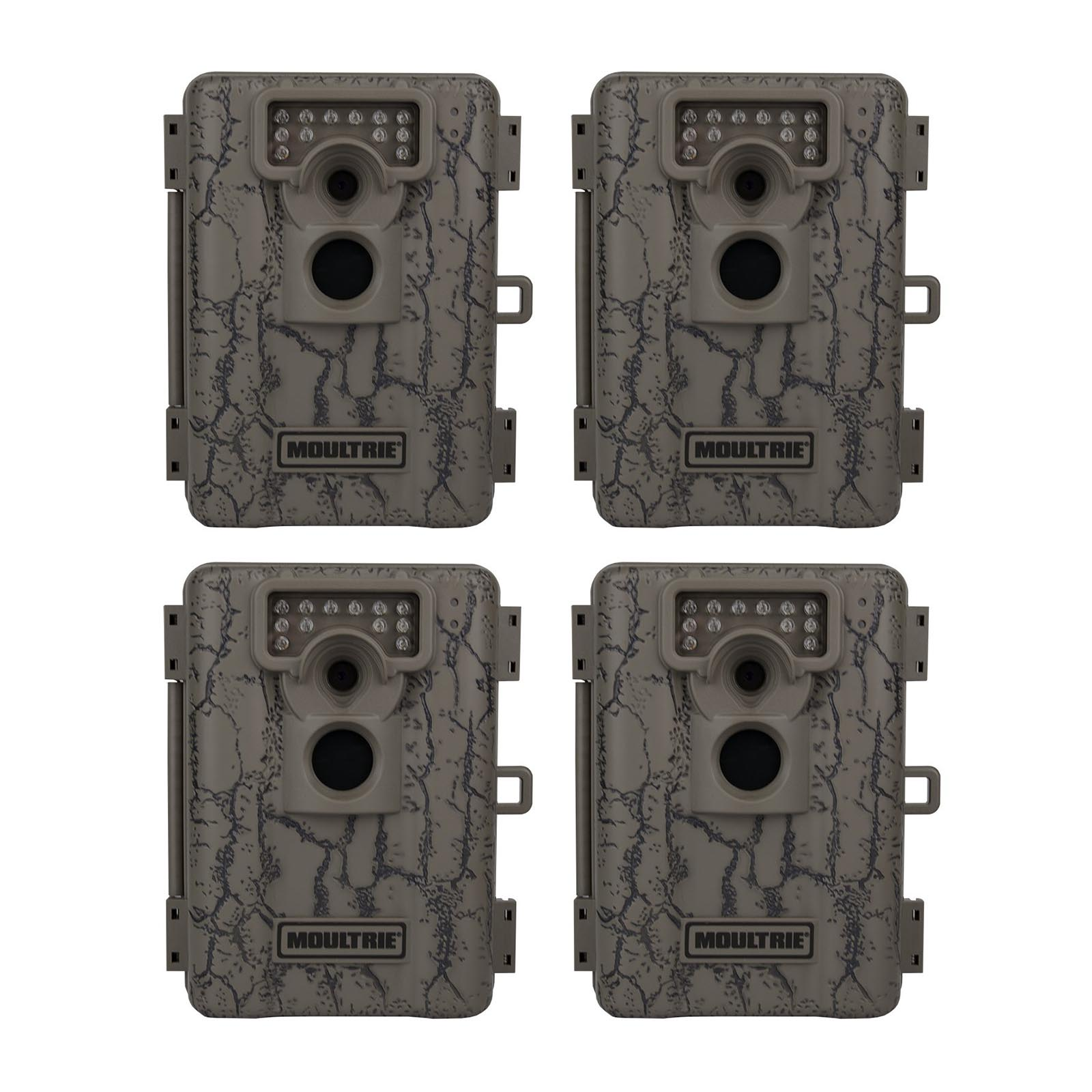 Click here to buy Moultrie A-5 Low Glow Infrared Trail Game Camera, 4-Pack (Certified Refurbished) by Moultrie.