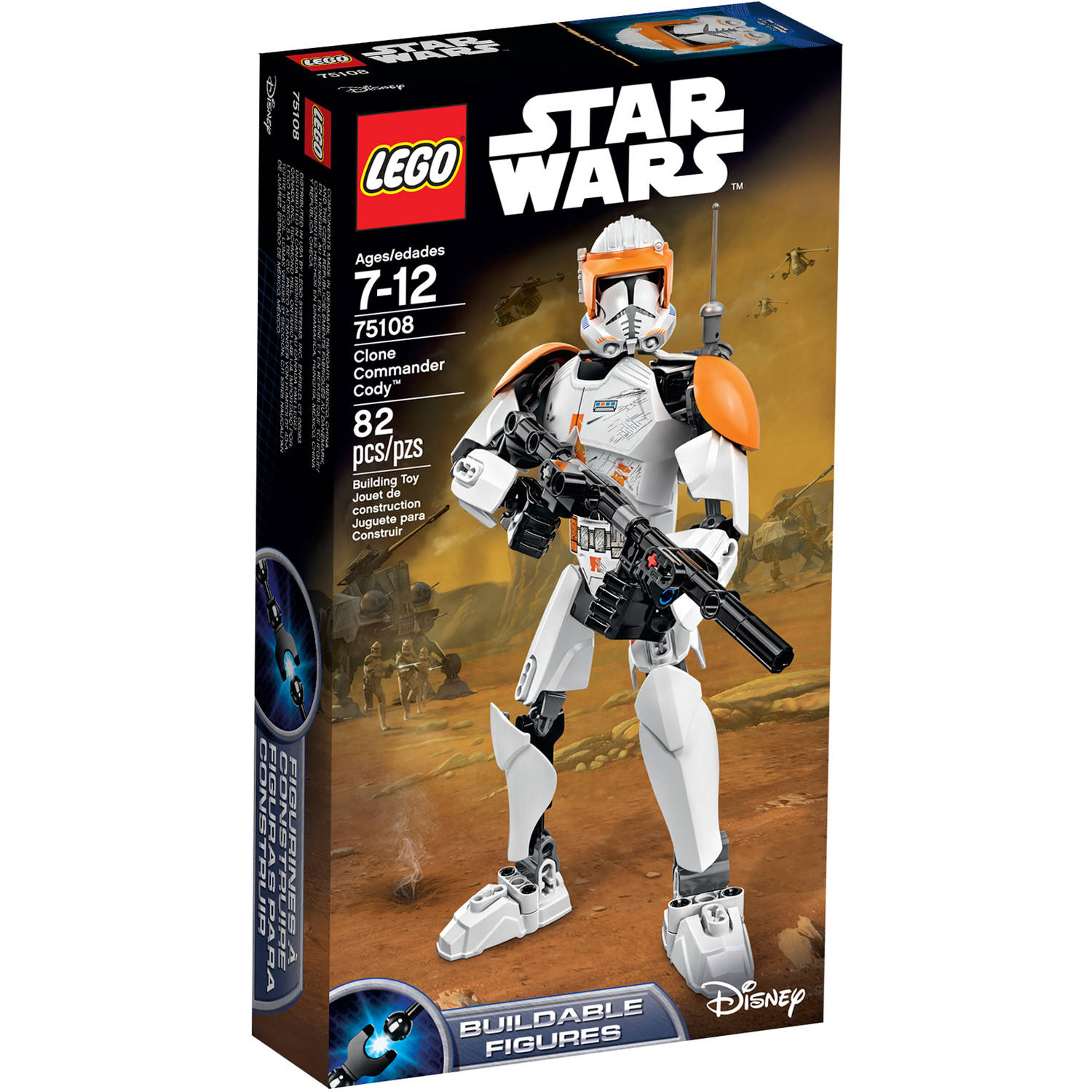 "LEGO Star Wars Clone Commander Cody"" 75108"