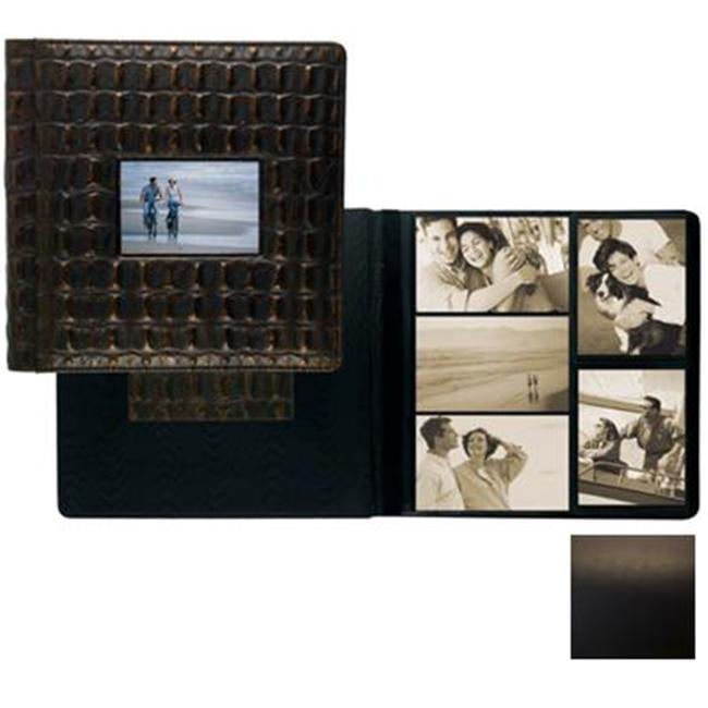 Raika SF 113-D BLK Frame Front Scrap Book Album - Black