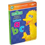 LeapFrog LeapReader Junior Book: Sesame Street Big Bird's First Book of Letters (works with Tag Junior)