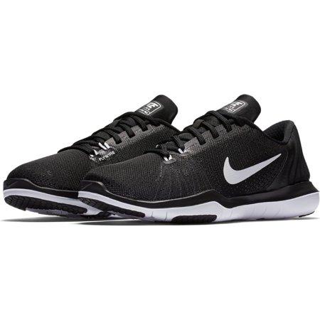 880f29eabfc6 Nike - Nike Womens Flex Supreme TR 5 Training Shoes Black  White-Pure  Platinum 6.5 - Walmart.com