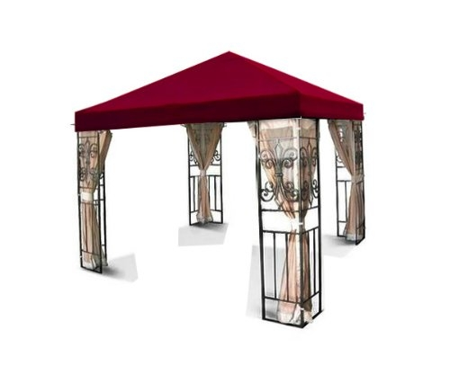 New MTN-G 10'x10' Single one Tiered Replacement Garden Gazebo Canopy Top