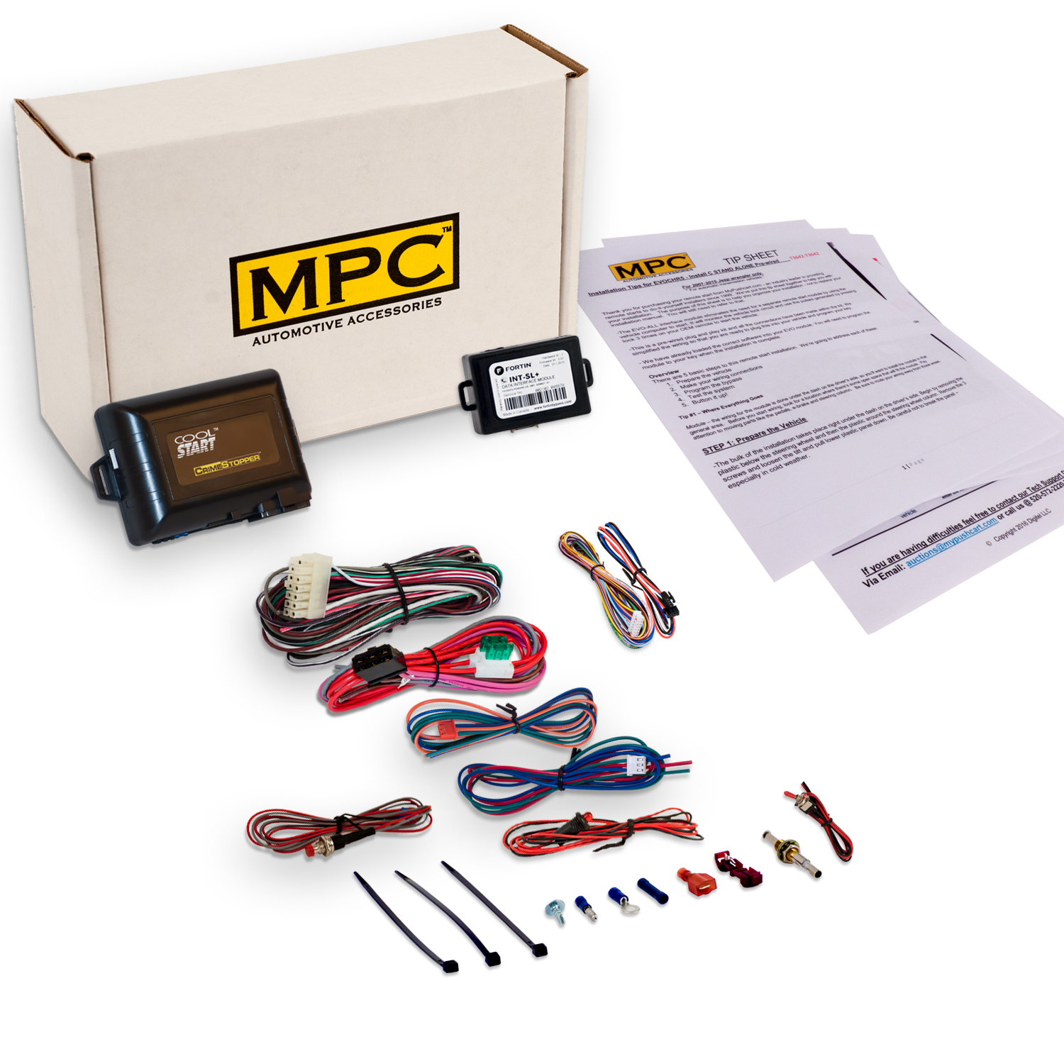 MPC Add On Remote Starter For Select 2000-09 GM - Uses Yo...