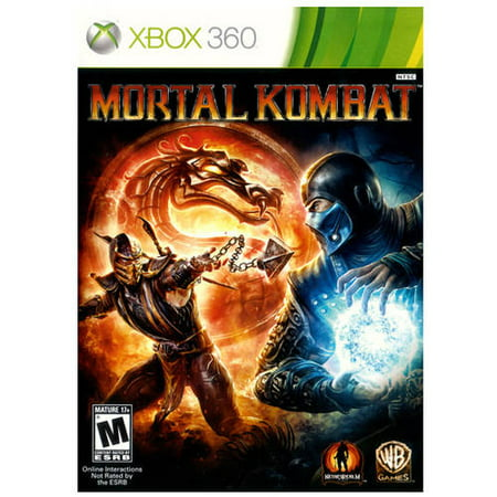 Mortal Kombat, Warner Bros, Xbox 360 (Pre-Owned) (Top Games For Xbox 360 Right Now)