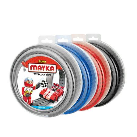 - Mayka Toy Block Tape (4-pack) - 6.5ft 4-stud